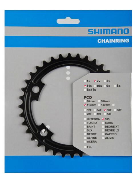 Shimano 105 FC-5800 Kettenblatt MB 110 mm schwarz